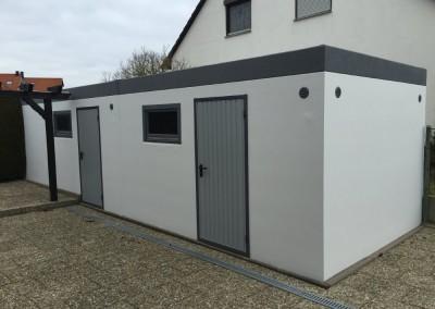 Alte Garage gestrichen in 91489 Wilhelmsdorf Bayern